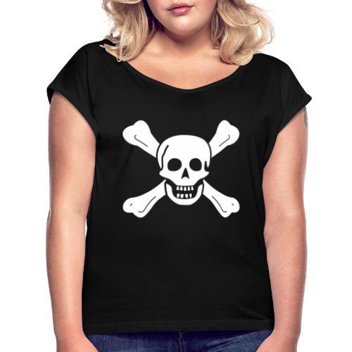 Richard Worley Flag - T-shirt à manches retroussées Femme