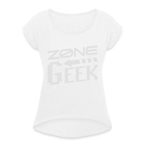 NEW Logo Homme - T-shirt à manches retroussées Femme