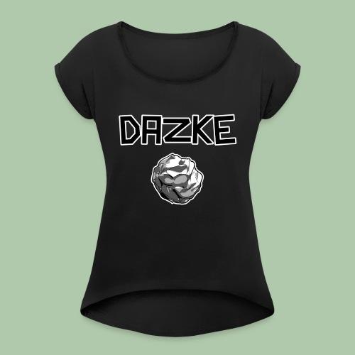 3968339 14986329 - Frauen T-Shirt mit gerollten Ärmeln