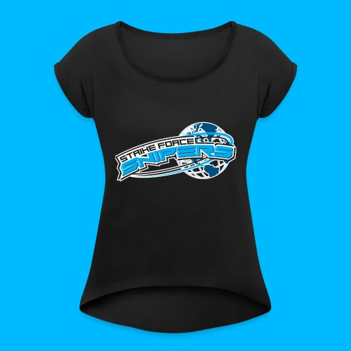Strike Force Snipers Sweater - Women's T-Shirt with rolled up sleeves