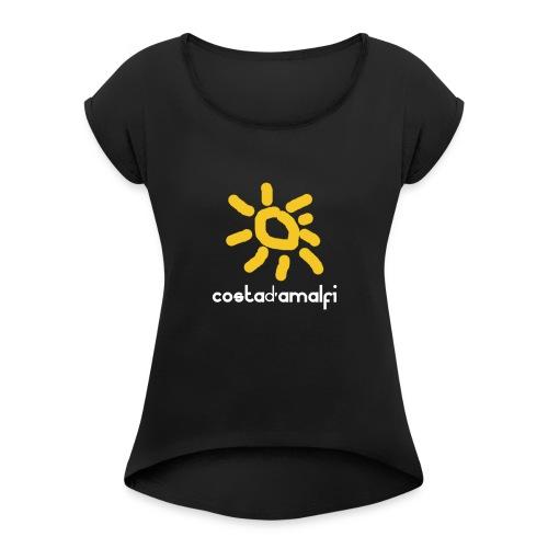 costadamalfi - Maglietta da donna con risvolti