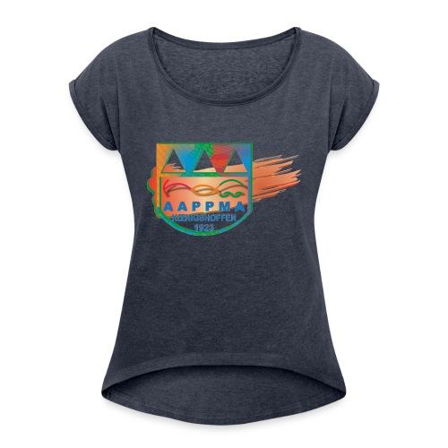 AAPPMA de Koenigshoffen - T-shirt à manches retroussées Femme