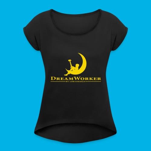 DreamWorker - Uomo - Maglietta da donna con risvolti