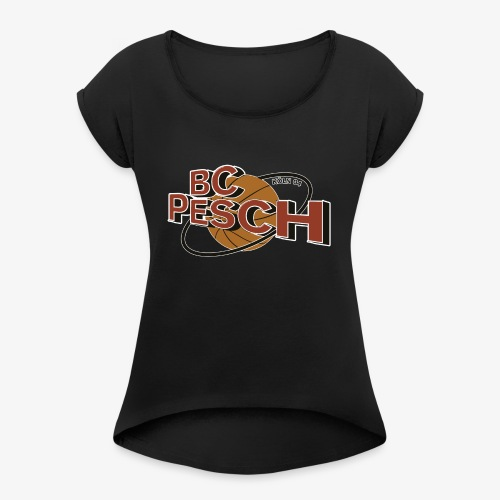BC Köln Pesch Logo - Frauen T-Shirt mit gerollten Ärmeln