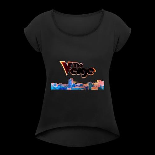 The Verge Gob. - T-shirt à manches retroussées Femme