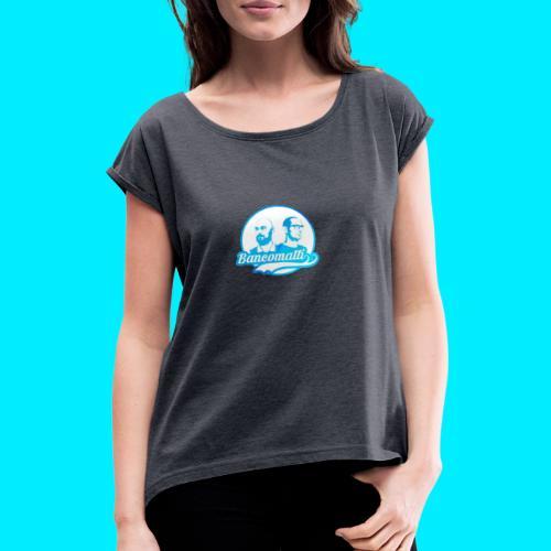 new logo shopper - Maglietta da donna con risvolti