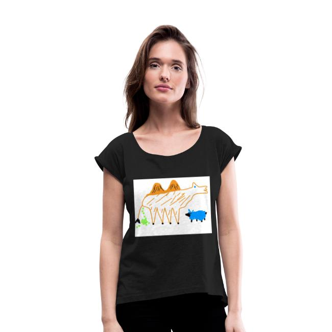 T-Shirt - The Carmel and the blue sheep