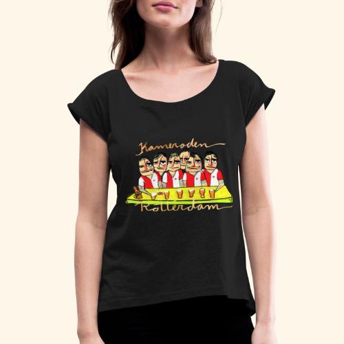 Kameraden Feyenoord - Vrouwen T-shirt met opgerolde mouwen