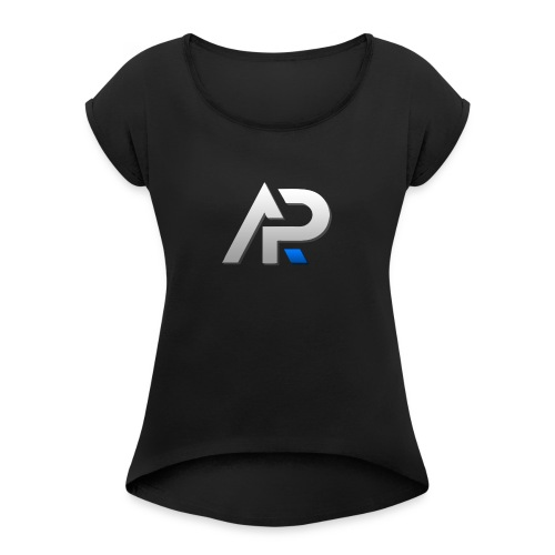 IMG 0033 - Women's T-Shirt with rolled up sleeves