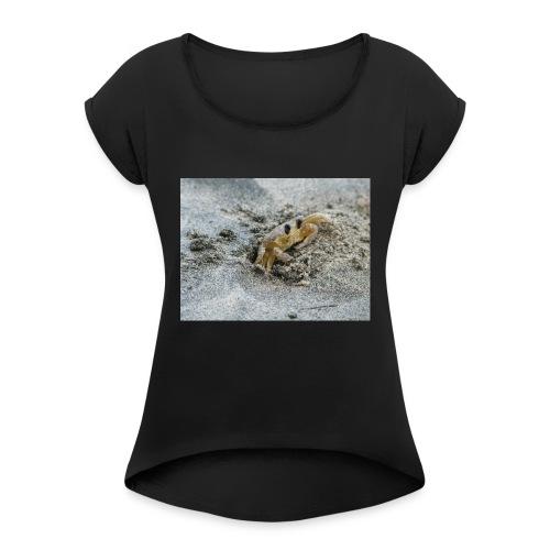 Crabe - T-shirt à manches retroussées Femme