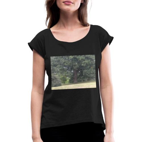 IMG 20180902 104028 - Women's T-Shirt with rolled up sleeves