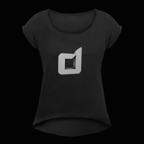Dawn T-Shirt - Women's T-Shirt with rolled up sleeves
