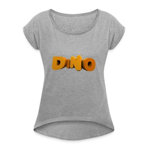 veste - T-shirt à manches retroussées Femme