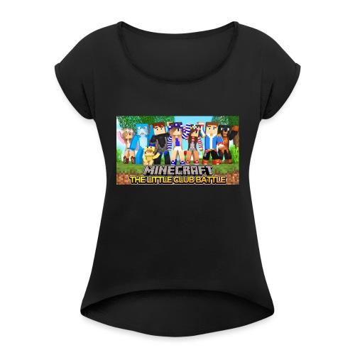 IMG_0714 - Dame T-shirt med rulleærmer