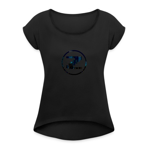 First Design - Women's T-Shirt with rolled up sleeves