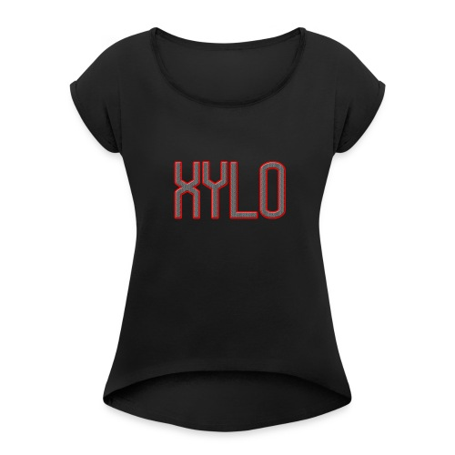 XYLOMerch - Women's T-Shirt with rolled up sleeves