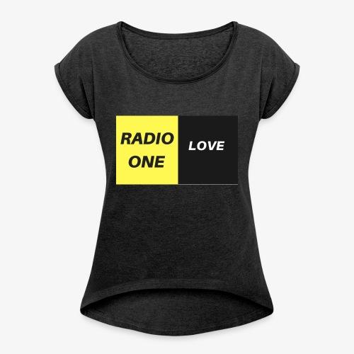 RADIO ONE LOVE - T-shirt à manches retroussées Femme
