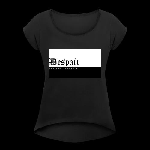 The Real Despair - T-shirt à manches retroussées Femme