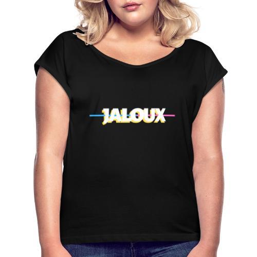 JALOUX - T-shirt à manches retroussées Femme