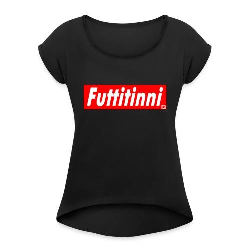 Midance futtitinni - Maglietta da donna con risvolti
