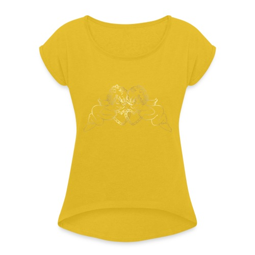ANA CHOSE THIS WONDERFUL THING - Women's T-Shirt with rolled up sleeves