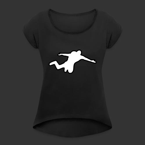 Basejump - Frauen T-Shirt mit gerollten Ärmeln
