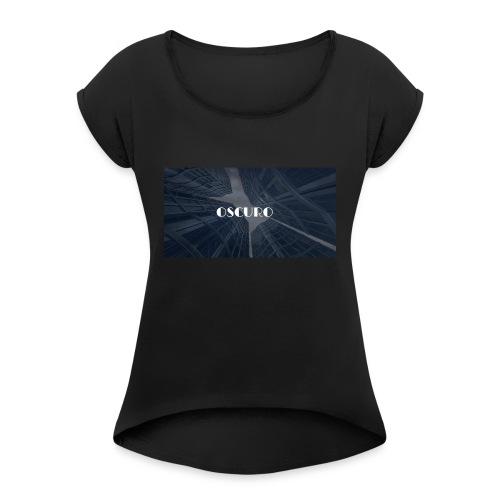 COPERTINA ALBUM OSCURO - Maglietta da donna con risvolti