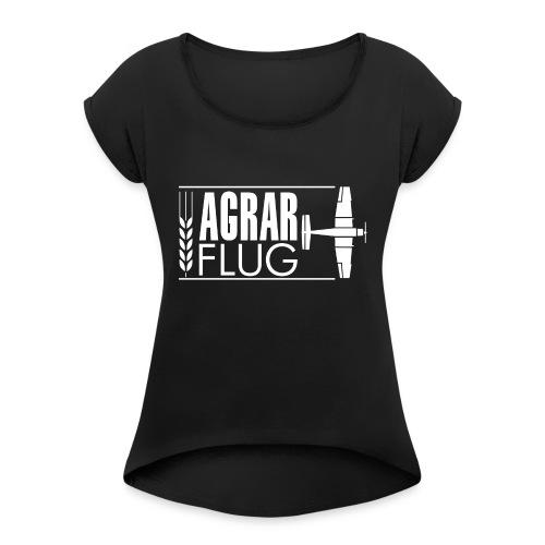 AGRARFLUG - Frauen T-Shirt mit gerollten Ärmeln