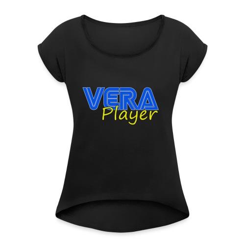 Vera player shop - Camiseta con manga enrollada mujer