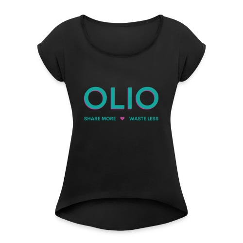 SHARE MORE 3.0 - Women's T-Shirt with rolled up sleeves