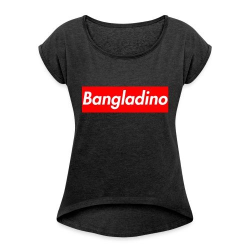 Bangladino - Maglietta da donna con risvolti