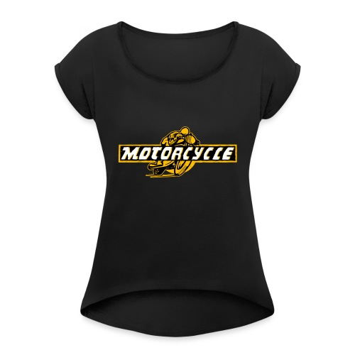 Need for Speed - T-shirt à manches retroussées Femme