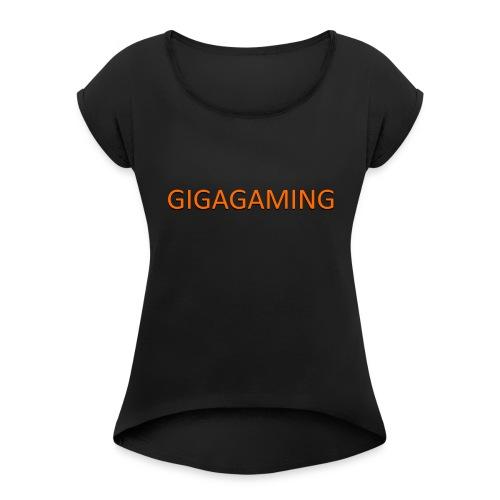 GIGAGAMING - Dame T-shirt med rulleærmer