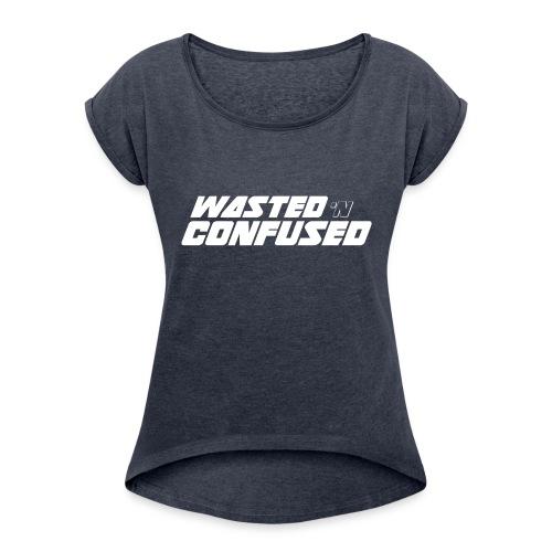 WNC OFFICIAL MERCHANDISE - Vrouwen T-shirt met opgerolde mouwen