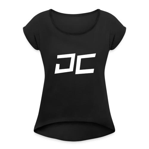 DutchCylinerShirt - Vrouwen T-shirt met opgerolde mouwen