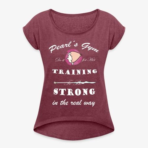 Strong in the Real Way - Maglietta da donna con risvolti