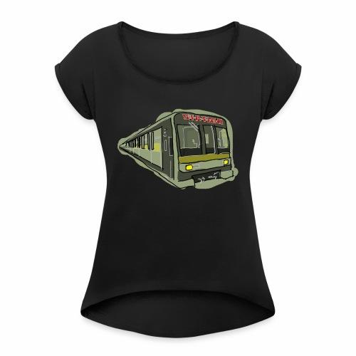 Urban convoy - Maglietta da donna con risvolti
