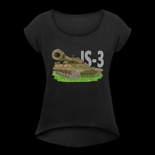 IS-3 (Writing) - Maglietta da donna con risvolti
