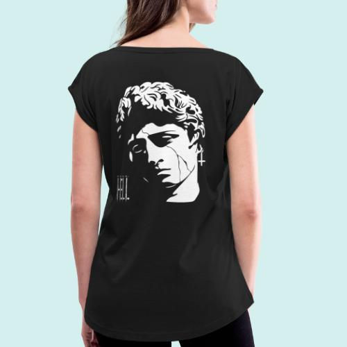 HELL apparel   STONER   2020 - Frauen T-Shirt mit gerollten Ärmeln
