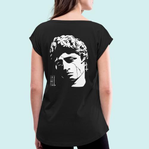 HELL apparel | STONER | 2020 - Frauen T-Shirt mit gerollten Ärmeln