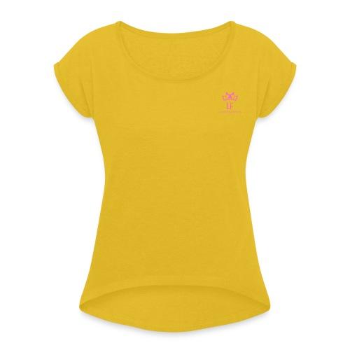 LF - Maglietta da donna con risvolti