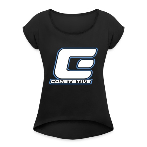 Constative hoodie - Dame T-shirt med rulleærmer