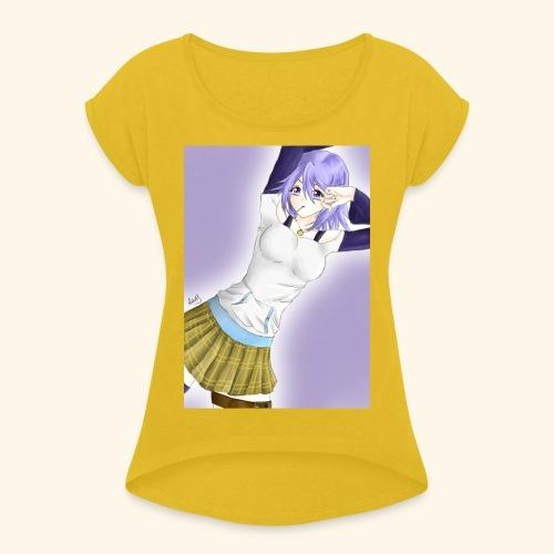 Mizore Shirayuki - Women's T-Shirt with rolled up sleeves