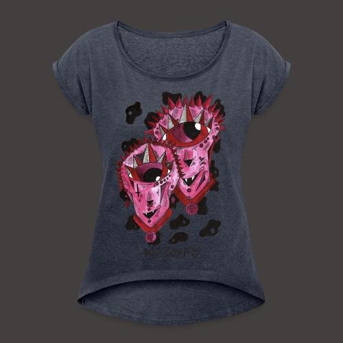 Gemeaux original - T-shirt à manches retroussées Femme