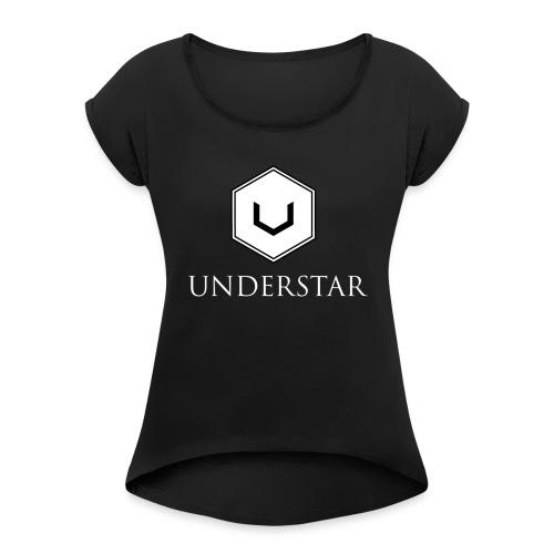 UNDERSTAR - T-shirt à manches retroussées Femme