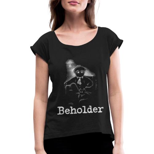 Hector Medina - Women's T-Shirt with rolled up sleeves