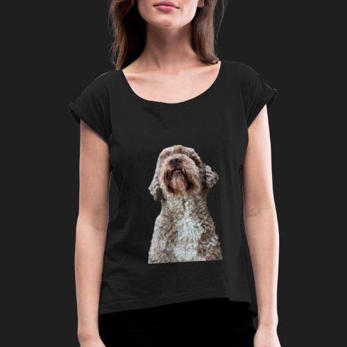 NinoCheese - Frauen T-Shirt mit gerollten Ärmeln