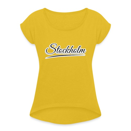 stockholm - Women's T-Shirt with rolled up sleeves