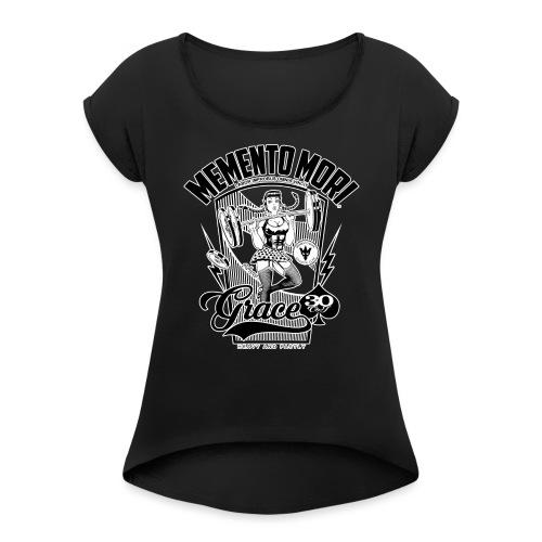GRACE - T-shirt à manches retroussées Femme