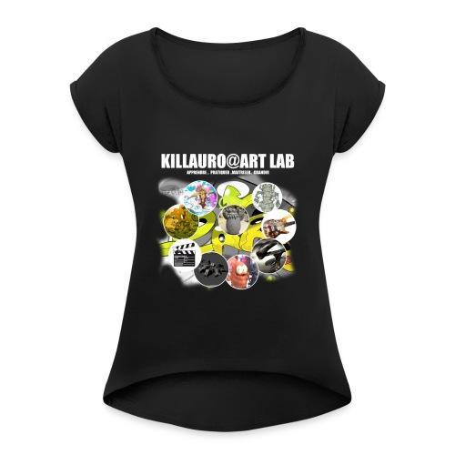 KLR ART LAB1 - T-shirt à manches retroussées Femme